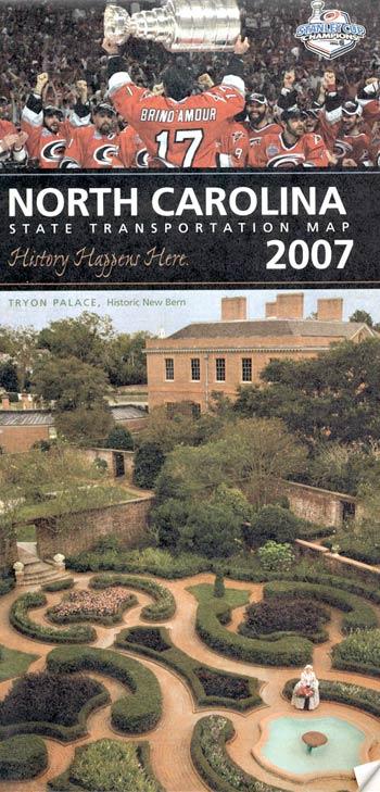 North Carolina State Transportation Map 2007