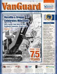 Vecellio & Grogan's 75th Anniversary Featured In 1st/2nd Quarter 2013 VanGuard