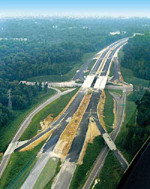 V&G's eight-mile I-540 project