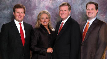 The Vecellio Group is privately owned by Leo A. Vecellio, Jr., his wife, Kathryn, and sons Christopher, left, and Michael, right.
