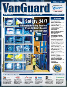 Safety 24/7: Workers Gear Up Day Or Night At Custom Vending Stations